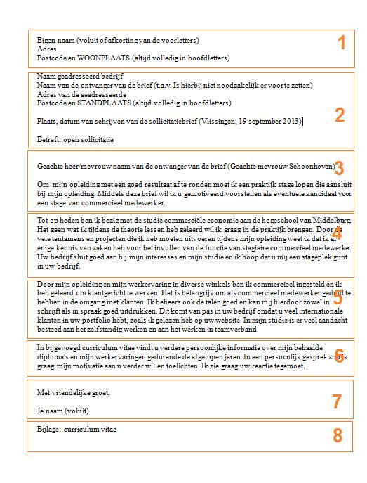voorbeeld motivatiebrief techniek Voorbeeld Motivatiebrief Techniek   Lettre De Motivation